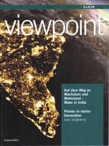 Publikation: GAM Viewpoint Kunde: GAM Zeitraum: seit 2011