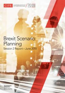 CIPR - Brexit scenario planning rport front page_Page_1